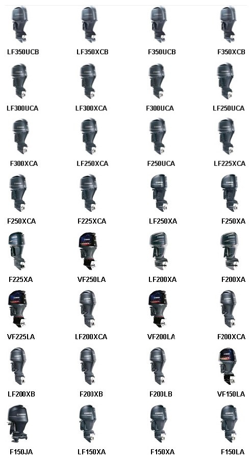 2019 Yamaha Outboard Engines For Sale