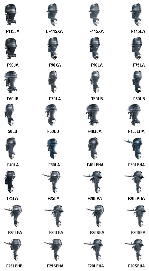 2019 Yamaha Four Stroke Outboard Engines For Sale