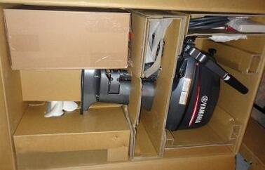 Yamaha 15FMHS 15hp 2 Stroke Outboard Sale-Short Shaft motor