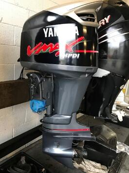 Yamaha 200hp VMAX 2 stroke outboards sale-long shaft 200GETOL