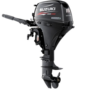 Suzuki 15hp outboard sale-4 stroke boat motor 20'' shaft DF15AEL