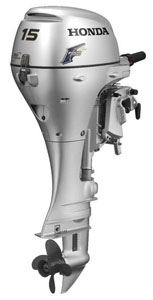 Honda 15hp outboard sale-4 stroke 25'' shaft motor BFP15D3XHT