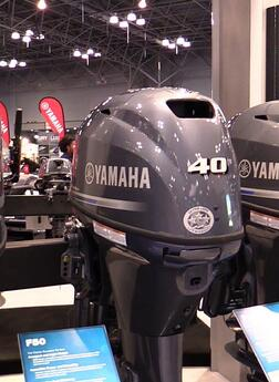 40hp outboard motors for sale-New 4 stroke boat engines F40LA