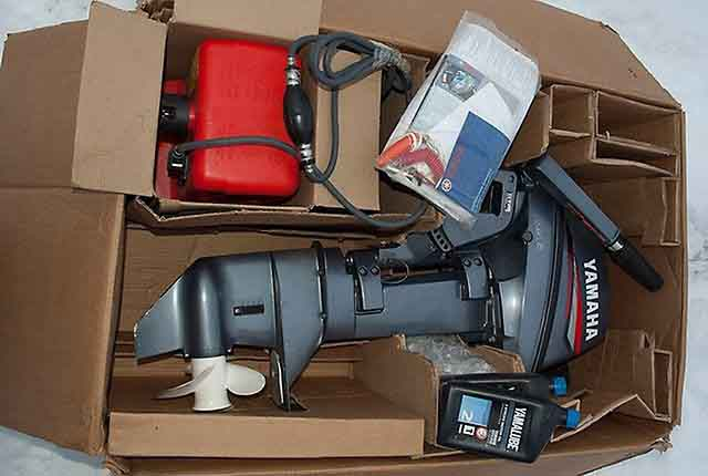 Yamaha 8hp 2 stroke outboard motor sale-short shaft 8FMHS
