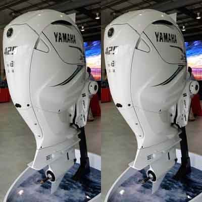425 hp Yamaha outboard motors sale-35'' shaft V8 XF425ESA7