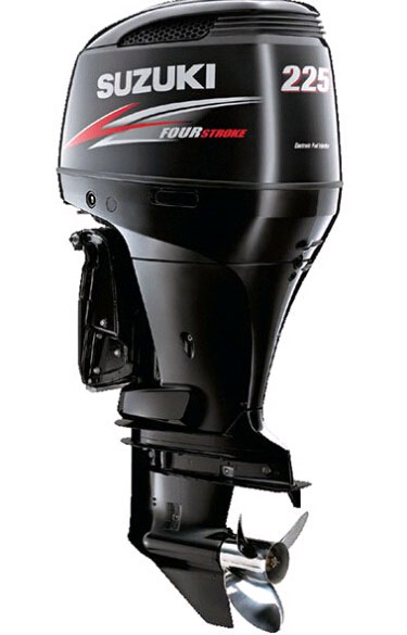 2019 Suzuki Marine DF225X 225HP Four stroke outboard engine