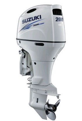 Suzuki Four Stroke Outboard Motor-2021 200HP Engines DF200APXW - Click Image to Close