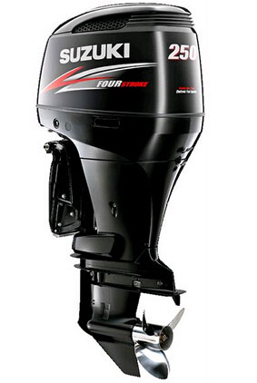 outboard motors sale-Suzuki 250 4 stroke 25'' shaft DF250TX