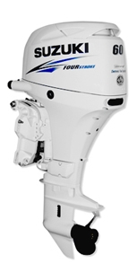 60hp outboard motors sale-Suzuki 4 stroke boat engine DF60ATLW