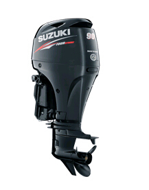 90hp outboard motor-Suzuki 4 stroke boat engines sale DF90ATL