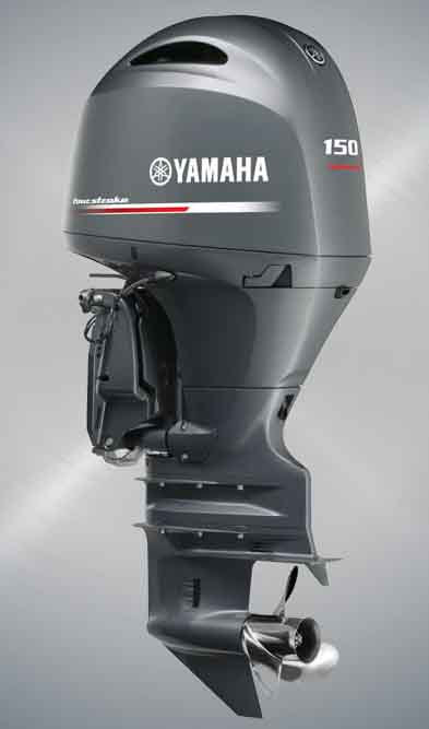 150hp outboard motors sale-Yamaha 4 stroke boat engines F150FETX