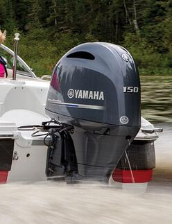 Yamaha 150hp 4 stroke outboard motors sale-boat engines LF150XCA