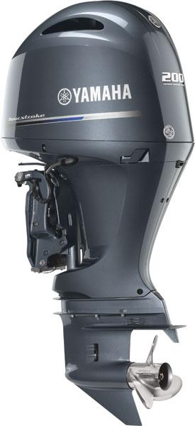 Yamaha F200XB 2016 Four Stroke In-Line Outboard Motor