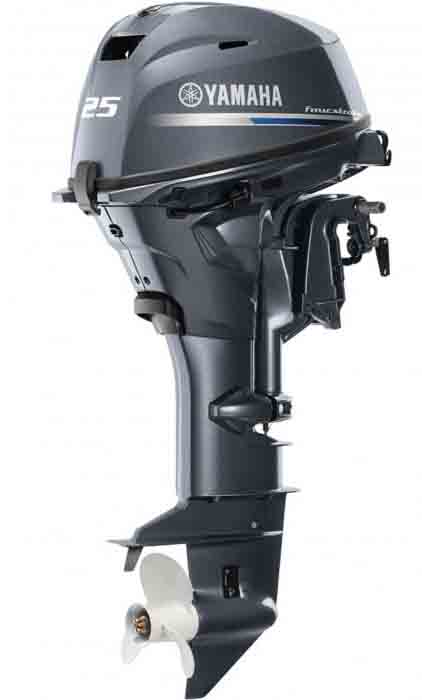 Yamaha 25hp outboard motors sale-Four stroke engines F25LWC