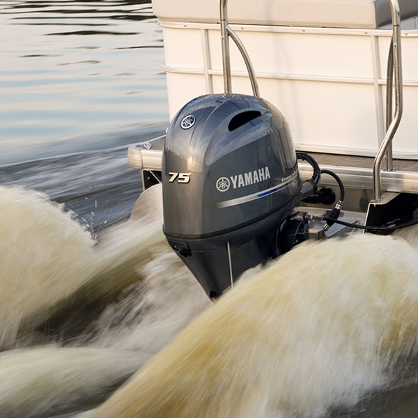 Yamaha 75hp Outboard Sale-2019 4 stroke boat engines motor F75LB