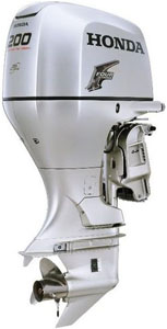 Honda 200hp 4 stroke outboard engines sale-25'' shaft BF200AK3XA
