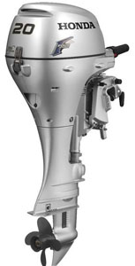 20hp outboard motor-Honda 4 stroke long shaft sale BF20D3LH