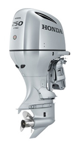 Honda 250hp 4 stroke outboards sale-30'' inch shaft BF250AXXW