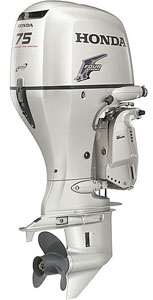 75hp outboard motor-Honda 4 stroke boat engines sale