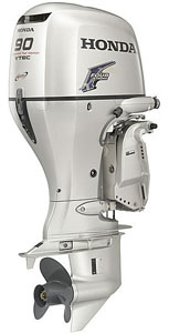 90hp outboards motor-Honda 4 stroke sale long shaft BF90D2XRTA