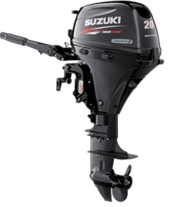Suzuki 20hp outboard engines sale-4 stroke boat motor DF20ATL