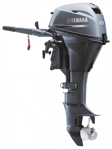 15hp outboard motor-Yamaha 4 stroke 15'' shaft sale F15SEHA