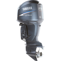 2017 2018 Yamaha F250XB Offshore 4.2L 250hp Outboard Motor sale