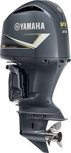 Yamaha 350hp outboards-V8 motor sale counter rotation LF350XCC