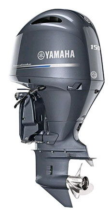 2021 Yamaha F150XB In-Line 150hp Four Outboard Motor sale