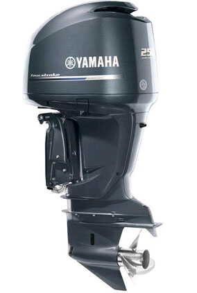 Yamaha 250hp outboards sale-4 stroke boat motor 25'' F250XCA