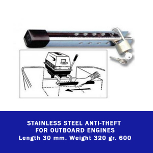 Yamaha outboard Parts Stainless Steel Anti-theft