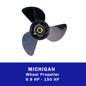 Machine Wheel Propeller for outboard motor boat engine parts