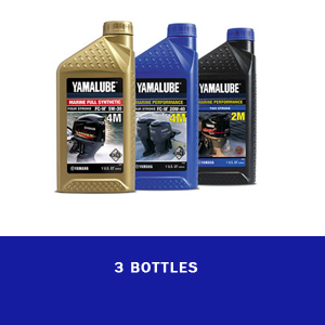 3 Bottle oil for Outboard motor