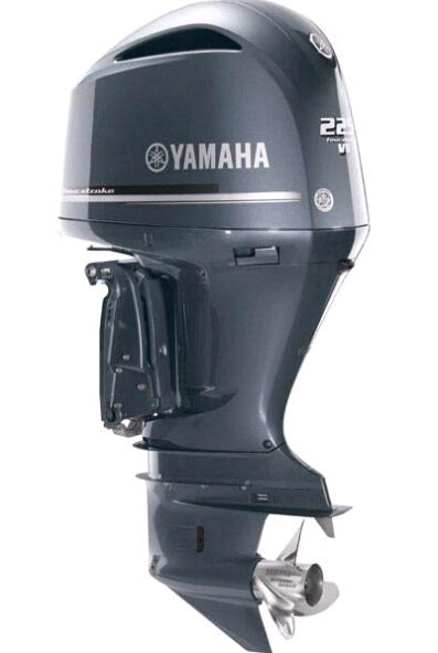 2017 2018 Yamaha LF225UCA Four Stroke V6 4.2L Offshore Outboard